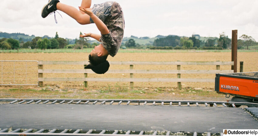 Trampolines Without Net