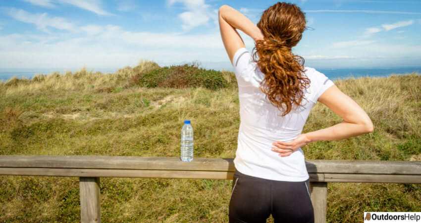 Lower Back Fatigue While Hiking