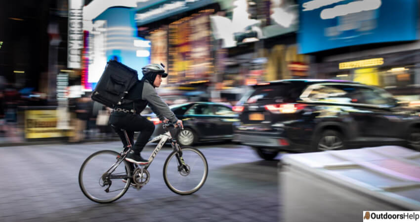 Bike For Delivery Work
